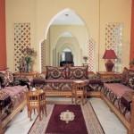 تصميم لمجالس مغربية للمساحات الصغيرة - 28822