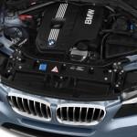 المحرك ذو الاداء القوى للسيارة بي ام دبليو C3 2014