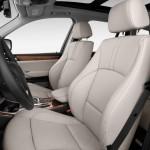 المقاعد الامامية للسيارة بي ام دبليو X3 2014