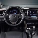 شكل عجلة القيادة الانسيابية للسيارة راف 4 -2014
