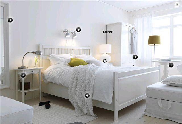 تصاميم غرف نوم ايكيا بسيطة | المرسال