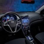 المقاعد الامامية للسيارة هيونداي اكسنت 2014