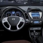 المقاعد الامامية للسيارة هيونداي توسان 2014