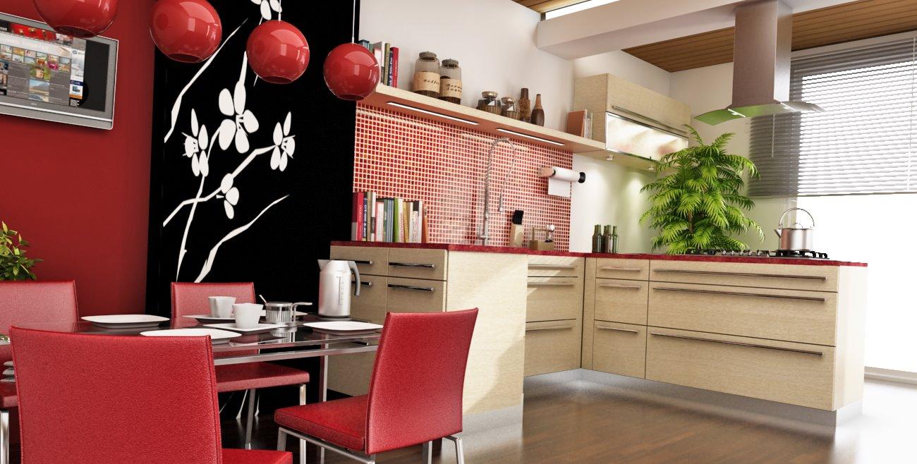 تصميم مطبخ صيني مذهل   المرسال