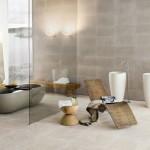 حمامات باللون البيج والرمادي - 31731