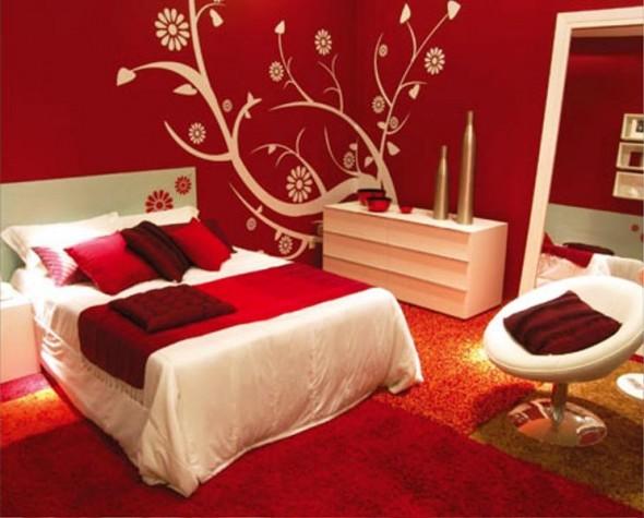 تصميم الدهانات الصينية الرائعة من غرفة نوم | المرسال