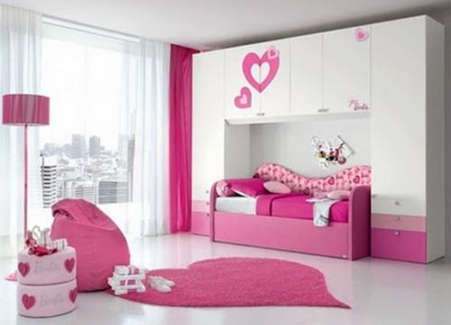 تصميم غرفة نوم بنات كول 2014   المرسال