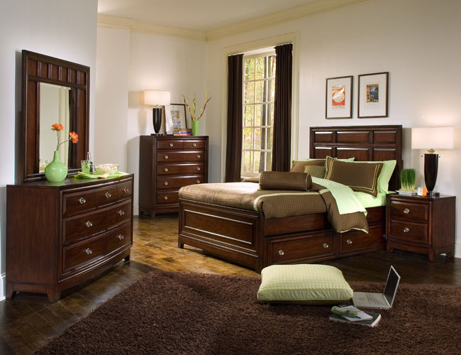 غرف نوم بني | المرسال