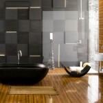 تصميم حمامات باللون الأسود للحمامات - 31735