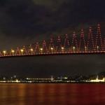 جسر البوسفور .. الجسر المعلق في تركيا