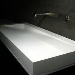 تصميم باللون الأبيض لأحواض الحمامات - 32947