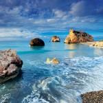 روعة شواطئ جزيرة قبرص