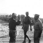 جنرالات إسرائيل والتقي مع القوات المصرية في سيناء  - 29178