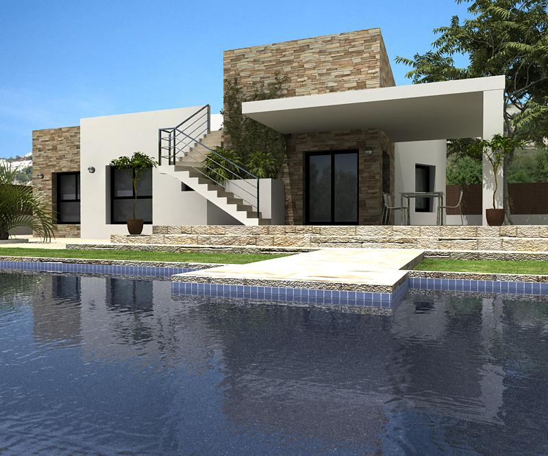- Foto moderne villa ...