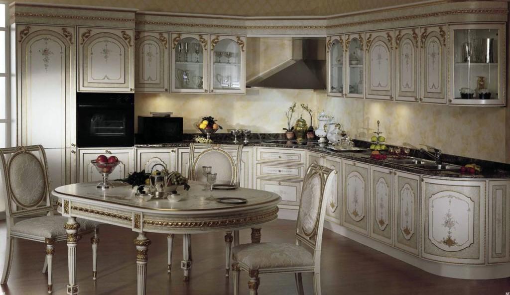 تصميم مطبخ هندي كلاسيك عصري المرسال