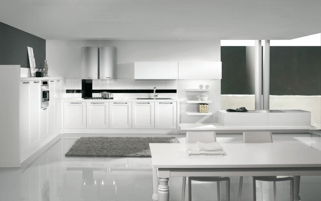 Cucine Moderne Bianche. Cool Come Arredare Una Cucina Con Mobili ...