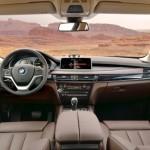 عجلة القيادة الانسياية للسيارة بي ام دبليو اكس 5 2014