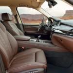 المقاعد الامامية للسيارة بي ام دبليو اكس 5 2014