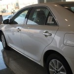 الجانب الانسيابى للسيارة تويوتا اوريون 2014