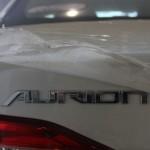صورة من الخلف للسيارة تويوتا اوريون 2014