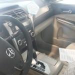عجلة القيادة الانسيابية للسيارة تويوتا اوريون 2014