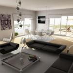 تصميم رائع لغرف معيشة 2014