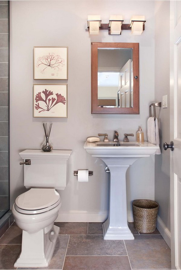 for Pretty small bathroom ideas