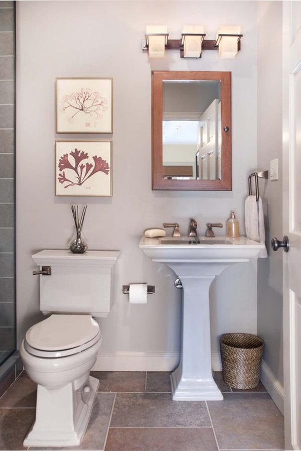 تصاميم حمامات صغيرة المرسال