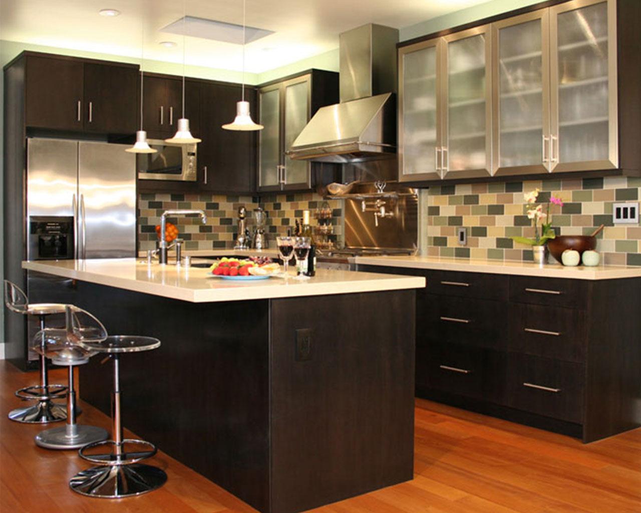 ديكورات مطابخ رقيقة الوان هادئة The-Kitchen-Design-M
