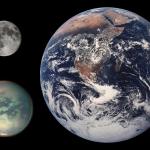 صور ومعلومات قمر التيتان