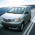 الانوار الامامية للسيارة تويوتا افانزا 2014