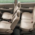 المقاعد الداخلية للسيارة تويوتا افانزا 2014
