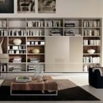تصاميم مكتبات منزلية