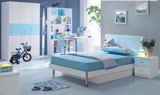 اللون التركواز في غرف نوم الأولاد | المرسال