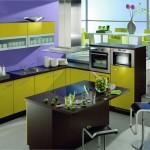 مطبخ 2014 الجذاب بألوانة