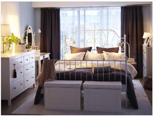 تصاميم غرف نوم ايكيا استيل | المرسال
