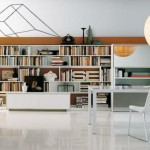 مكتبات منزلية صغيرة
