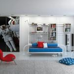 غرف نوم شباب تحفة التصميم
