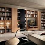 مكتبات منزلية للمساحات الكبيرة