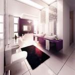 أحدث حمامات 2014 للمساحات الكبيرة