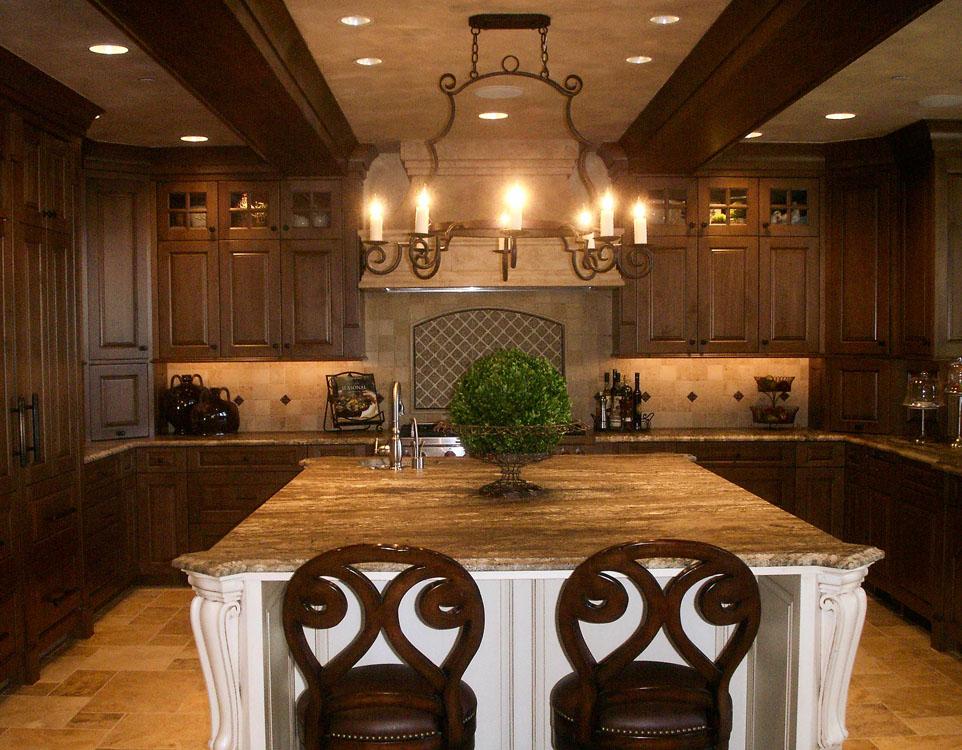 Tuscan Kitchen Design Images