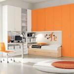 غرف أطفال برتقالية