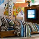 تصميم لغرف نوم الشباب الصغيرة