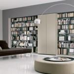 تصاميم مكتبات منزلية مودرن