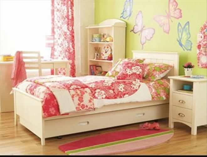 تصاميم غرف نوم بنات فرشات بسيطة | المرسال