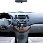 عجلة القيادة الانسيابية للسيارة ميتسوبيشي جرانديز 2014