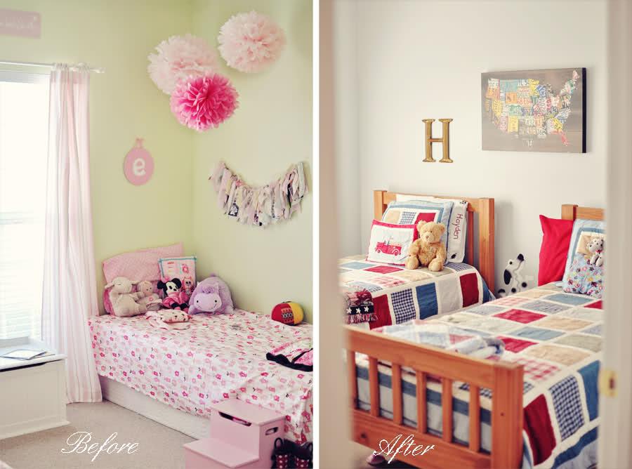 غرف اطفال قبل وبعد | المرسال