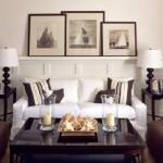 تصميم غرف معيشة باللون البني مميزة - 42416