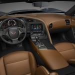 المقاعد الامامية للسيارة شفروليه كورفيت 2014