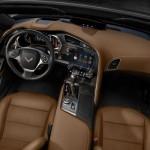 عجلة القيادة الانسيابية للسيارة شفروليه كورفيت 2014